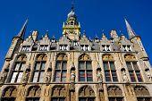 town hall, Veere, Zeeland, Netherlands