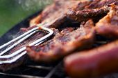 Barbecue Closeup