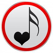 song of love button
