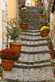 Beautiful stairs, Szentendre, Hungary