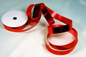 Shiny Red Wrapping Tape