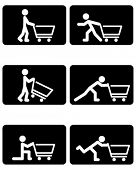 supermarket exercise signs