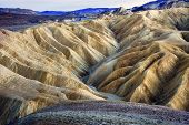 Zabruski Point Death Valley National Park California