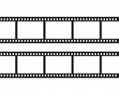 stock photo of mm  - Blank negative film - JPG