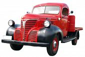 1942 Fargo Fl 1/2 ton isolated with clipping path