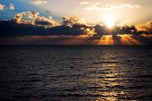 image of wane  - a stunning sunrise shot from the beach of singer island in florida - JPG
