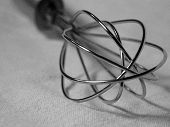 Closeup Of Wire Wisk
