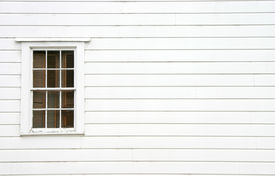 image of windows doors  - a window on the side of an old house - JPG