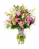Постер, плакат: Красочные сделал флориста цветочные договоренности букет цветов