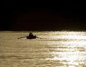 Nubian Fishermen On The Nile