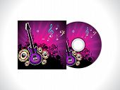 Abstract Music Cd Template