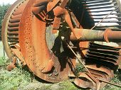 Rusting Ventillation Fan