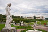 Tourists In Arkhangelskoye Estate