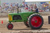 Oliver Super 77 Green & Red Tractor