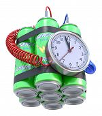 Energy drink bomb