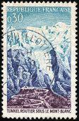 Stamp Chamonix