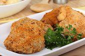 Breaded Chicken Thighs