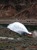 Flip Bucket Spillway - Idaho