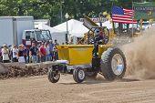 Yellow Minneapolis Moline Gvi Tractor