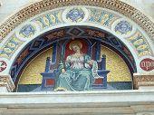 Pisa - portal sobre la entrada al Duomo