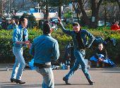Niños japoneses Retro Rockabilly