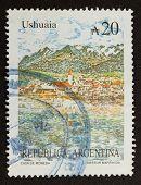 Argentina - Circa 1980: Stamp Printed In The Argentina