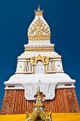 Phra That Phanom chedi in thai temple