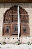 stock photo of shiraz  - Big window of palace in fortress Arg - JPG