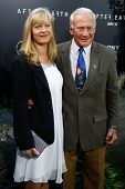 NEW YORK - MAY 29: Astronaut Buzz Aldrin attends the premiere of