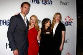 LOS ANGELES - MAY 28:  Patricia Clarkson, Alexander Skarsgard, Ellen Page, Brit Marling arrives at