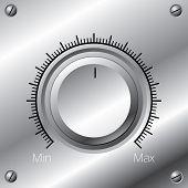 Perilla de volumen con calibración