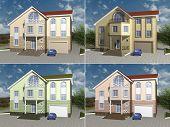 3D rendering House model