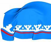 Yamalo-nenets Autonomous Okrug Flag, Russia.