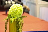 Cantaloup Carving 16