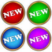 New Buttons Set