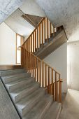 architecture modern design, interior home, staircase