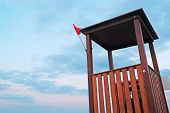 Lifeguard Tower Detail