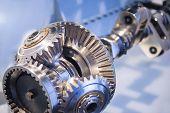 Steel Crankshaft With Cogwheel