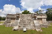 Ruins near Chichen Itza pyramid, Mexico
