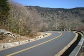 Blue Ridge Parkway Curve