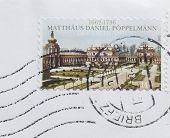 German Mail Stamp