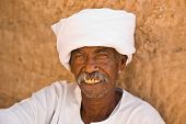 Nubian Egyptian Moustache Man