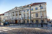 Classicist Raczynski Palace In Warsaw