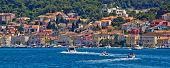 Mali Losinj, Croatia, 05.07.2011. - Adriatic Coastal Town Of Mali Losinj Waterfront And Harbor