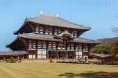 Great Buddha Hall at Todaiji Temple in Nara