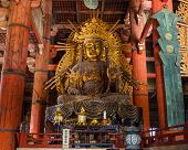 Kokuzo Bosatsu (Chinese Godess) at Todaiji Temple in Nara