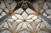 Arched Ceiling Of A Medieval Church, Slovenia