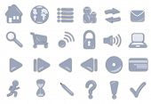 Several interface icons. Useful as hmepage navigation