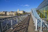 Open Passage Of A Footbridge.