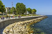 Seawall In Constanta, Romania